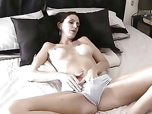amateur black brunette creampie masturbation milf