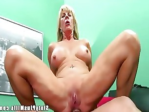 anal milf mature horny granny blonde
