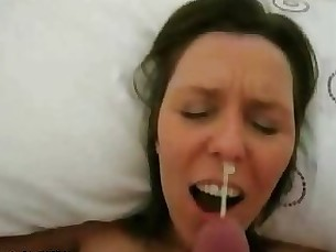 amateur blowjob brunette couple fuck hooker milf pov prostitut