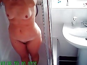 amateur mature milf shower wife