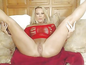 blonde masturbation mature pornstar webcam