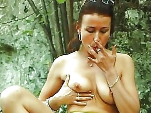 beauty brunette crazy fingering hooker horny milf prostitut solo