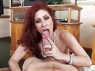 anal lingerie milf redhead
