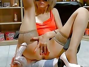 amateur dildo fisting masturbation mature pussy webcam