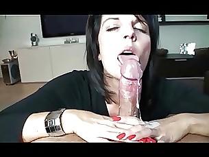 lactation milf amateur cumshot