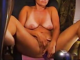 amateur big-tits masturbation mature solo toys webcam