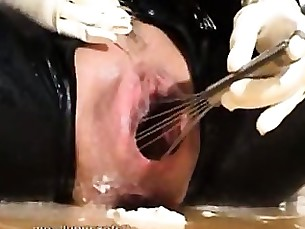 amateur crazy exotic fetish latex mature milf office squirting