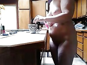 amateur bbw kitchen milf wife