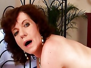 brunette big-cock couple granny milf wild