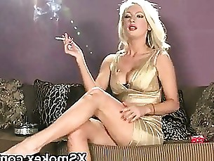 amateur anal milf seduced smoking fetish blonde
