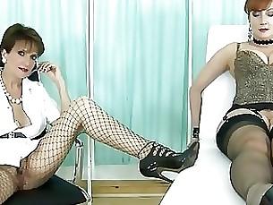 dildo handjob lesbian mature