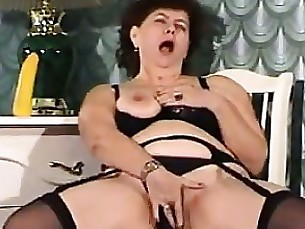 amateur brunette bbw masturbation mature toys