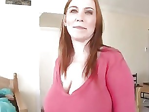 redhead mature mammy boobs blowjob