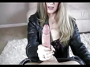 mature handjob blonde