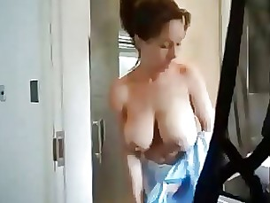 hot babe mammy milf masturbation shower