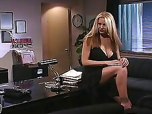 blonde fuck hardcore hot milf office