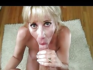 mammy couple mature milf pov blowjob