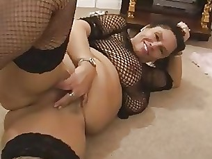 bbw fatty hairy mature solo