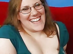 blonde bbw glasses milf sucking