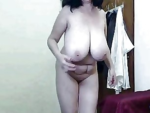 webcam mature granny dancing big-tits amateur