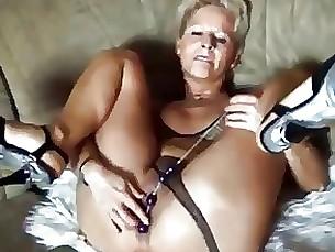 blonde milf toys