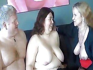bbw granny mature threesome