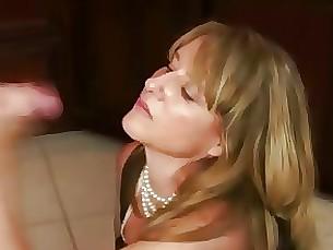 blowjob cumshot handjob mammy milf
