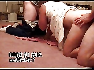 amateur homemade milf threesome