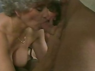 couple friends granny mature