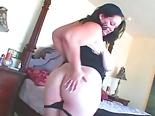 dildo bbw fatty masturbation milf tease toys uniform