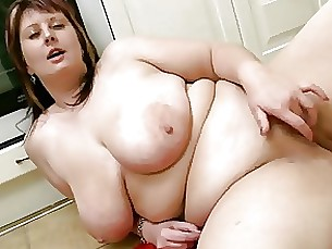 amateur bbw fatty kitchen mammy masturbation mature pussy