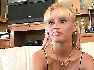 blonde double-penetration hardcore interracial milf pleasure threesome