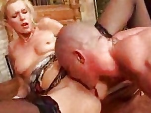 anal blonde blowjob boss couple lingerie masturbation milf shaved