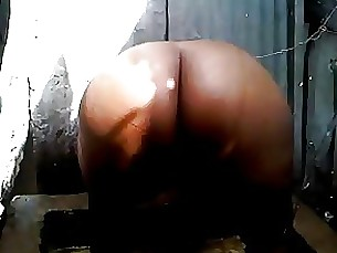 black ebony indian mature shower