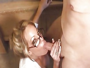 amateur ass blonde blowjob couple fuck glasses hidden-cam masturbation