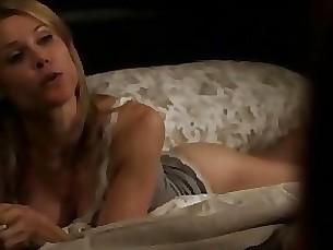 blonde lingerie milf funny