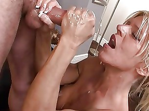 boss big-cock handjob mature milf