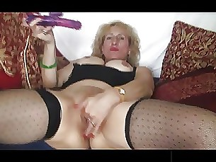 black blonde masturbation mature stocking toys
