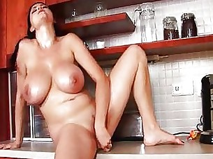 beauty big-tits black boobs masturbation milf natural pornstar solo