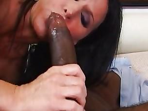 stunning ride pornstar milf interracial couple brunette black