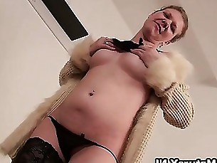 amateur dildo granny hardcore horny masturbation mature solo striptease