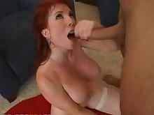blowjob pornstar boobs pussy bus redhead busty ride big-cock