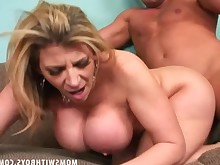 big-tits blonde blowjob cougar cumshot fuck granny hot housewife