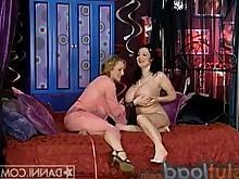 big-tits lesbian milf pleasure