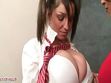 punished schoolgirl student teacher toys big-tits boobs bus busty