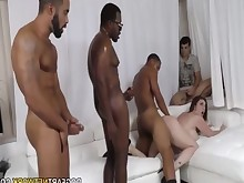black big-cock gang-bang girlfriend huge-cock interracial milf monster threesome