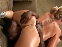 licking milf monster oil pussy ass rimming big-tits black