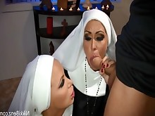 big-tits blonde blowjob boobs brunette bus busty cumshot doggy-style