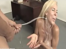 mature jerking hot handjob cumshot teacher