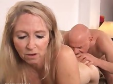 beauty blonde cougar cumshot facials fuck granny hot housewife